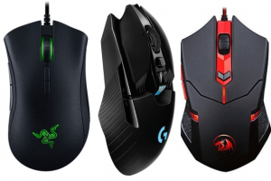 Couple of things to consider when looking appropriate gaming mouse