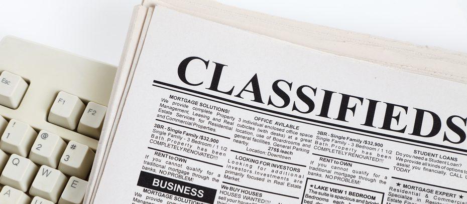 classified ads